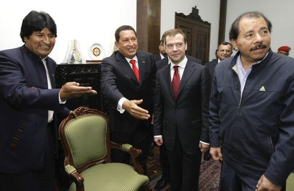 Президент Бразилии Эво Моралес
