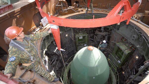 Подготовка к запуску конверсионной ракеты РС-20 Днепр. Архивное фото