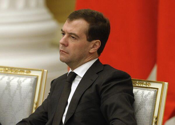 Создаваемые Организацией Договора о коллективной безопасности (ОДКБ) силы оперативного реагирования по боевому потенциалу будут не хуже, чем аналогичные структуры НАТО, заявил в среду президент РФ Дмитрий Медведев