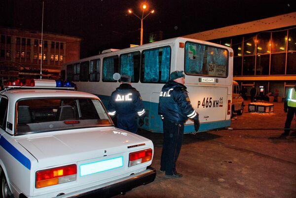 Автомобиль сбил сотрудника милиции в центре Уфы