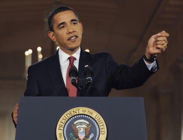 Пресс-конференция Барака Обамы в Белом доме