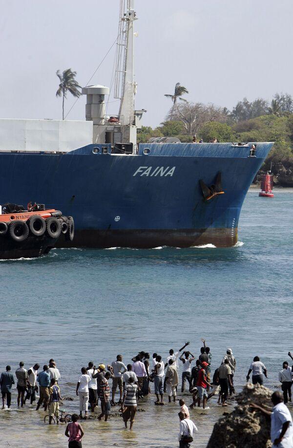 Украина вывезет тело капитана Фаины из Кении при наличии разрешения
