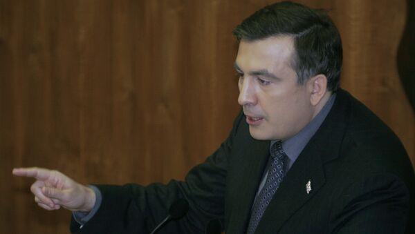 Выступление президента Грузии М.Саакашвили в парламенте Грузии
