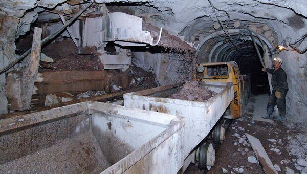 Добыча урановых руд
