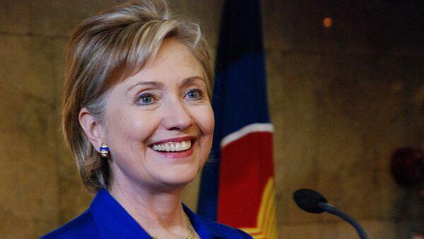 Госсекретарь США Хиллари Клинтон прибыла в Москву