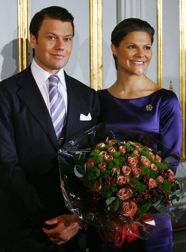 Шведская кронпринцесса Виктория объявила о своей помолвке с Даниэлем Вестлингом