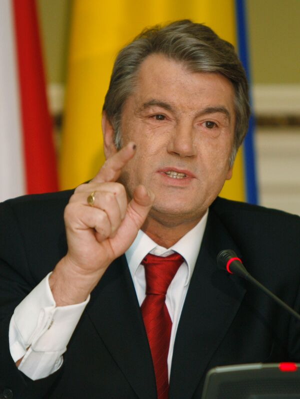 Виктор Ющенко во вторник выступил с ежегодным посланием перед парламентом