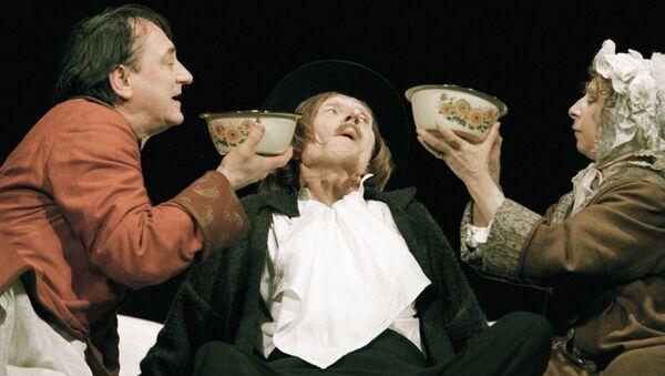 Сцена из спектакля Валерия Фокина Старосветские помещики