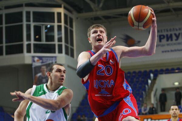 Нападающий ЦСКА Андрей Воронцевич
