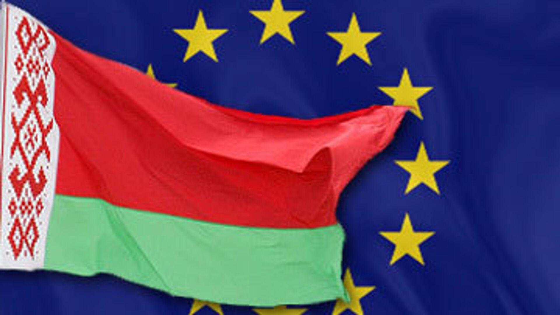 Флаг ЕС и Белоруссии - РИА Новости, 1920, 24.06.2021