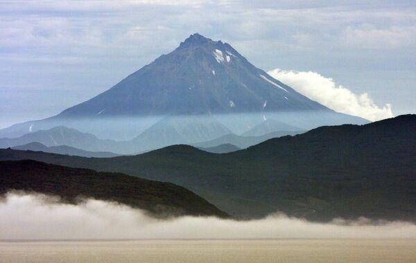 Мощный сель сошел со склона вулкана на Камчатке