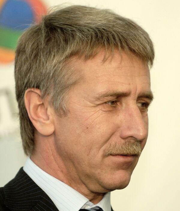 Председатель правления компании Новатек Л. Михельсон. Архив