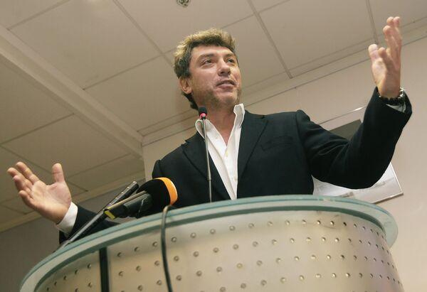 Агитматериалы Немцова задержаны из-за нарушений закона - избирком Сочи