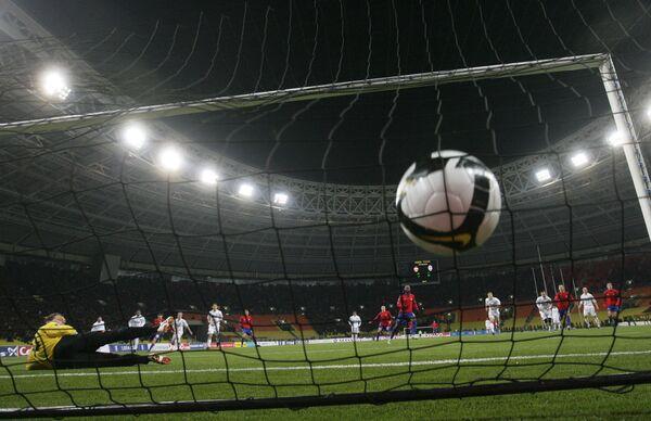 ЦСКА и Зенит проведут ответные матчи 1/8 финала Кубка УЕФА