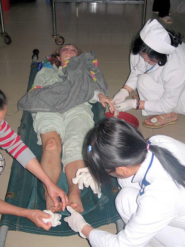 Жертва автобусной аварии во Вьетнаме