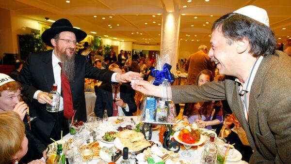 Торжества, посвященные еврейскому празднику Пурим, прошли в Московском еврейском общинном центре. Архив