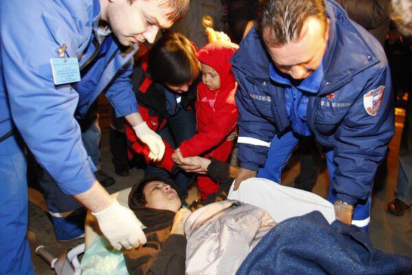 Самолет МЧС РФ доставил в Москву пострадавших в ДТП во Вьетнаме