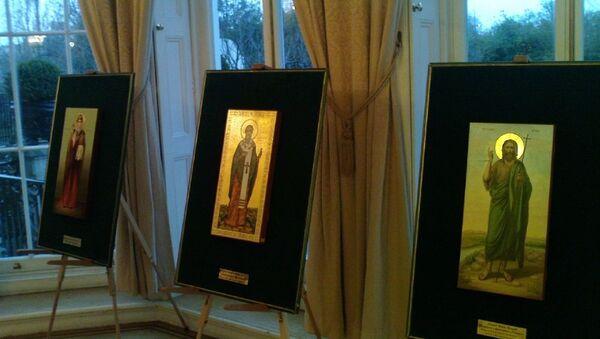 Выставка мерных икон в Лондоне