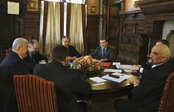 Встреча президентов России, Молдавии и Приднестровья состоялась в подмосковной Барвихе