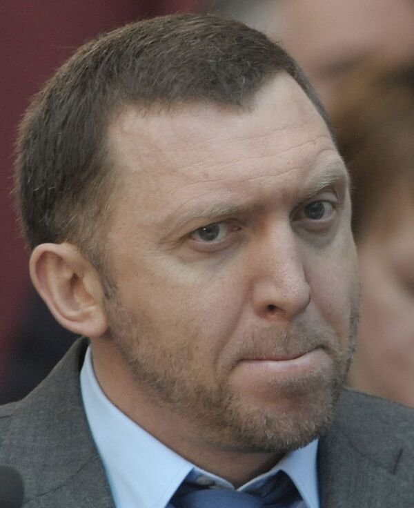 Генеральный директор компании РУСАЛ Олег Дерипаска