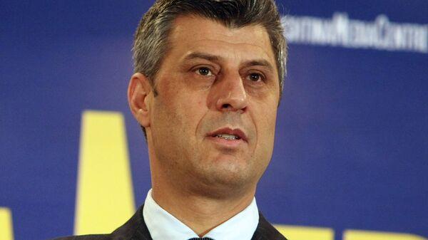 Премьер-министр Косово Хашим Тачи. Архив