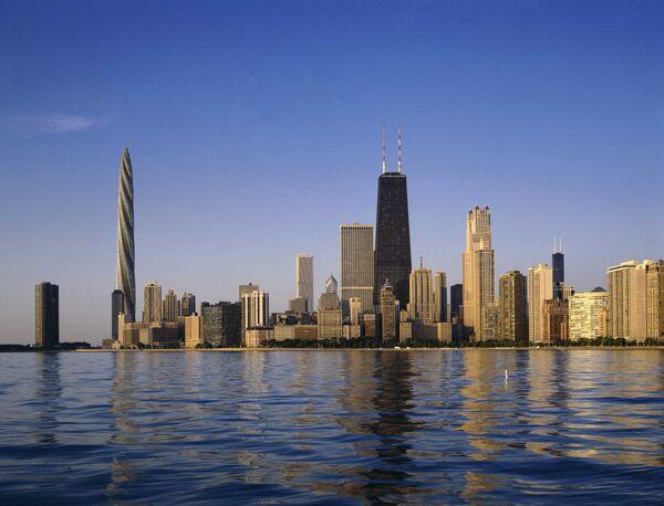 Небоскреб Chicago Spire
