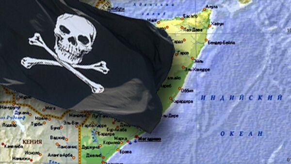 Французские военные моряки взяли в плен 11 сомалийских пиратов