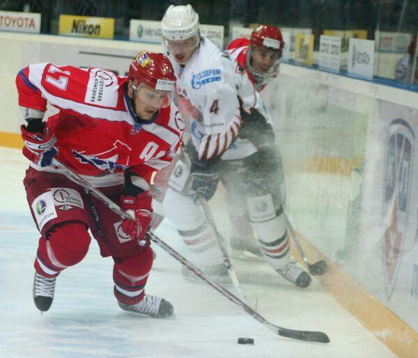 Континентальная хоккейная лига: Локомотив (Ярославль) - Авангард (Омск) 4:2