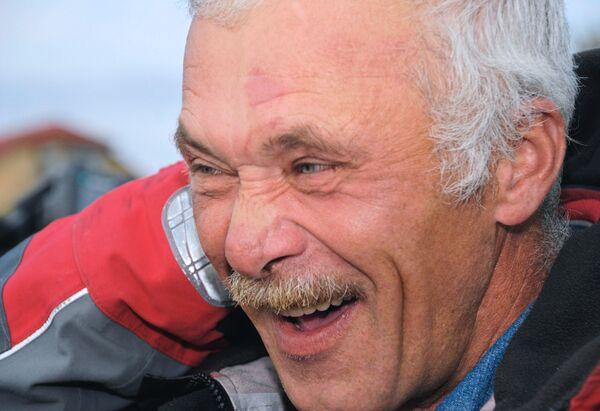 Яхтсмен Алексей Федорук