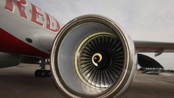 Церемония передачи самолета Ту-204 авиакомпании Red Wings. Архивное фото.