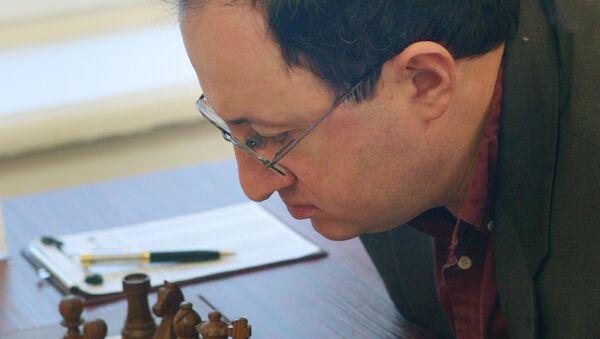 Израильский гроссмейстер Борис Гельфанд