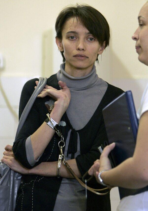 Россиянка Ирина Беленькая в суде Будапешта