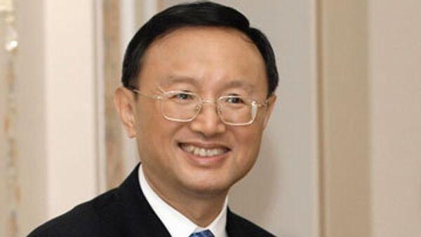 Министр иностранных дел Китая Ян Цзечи. Архив