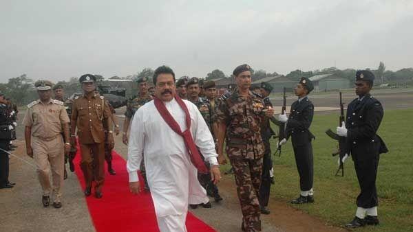 Президент Шри-Ланки Махинда Раджапакса. Архив