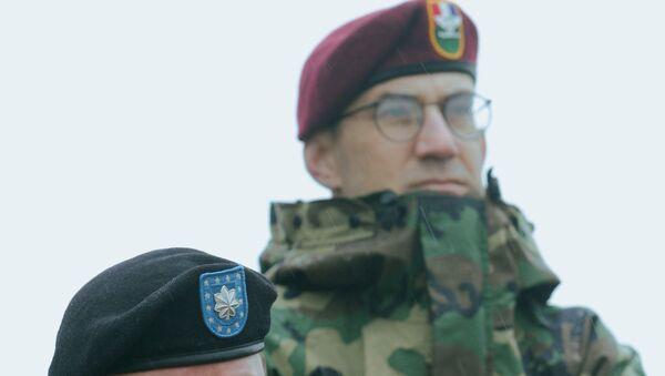Военнослужащие сил НАТО. Архивное фото