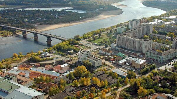 Мост через реку Вятку в г. Кирове