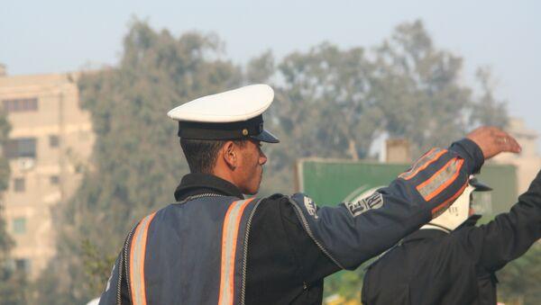 Египетский полицейский. Архив