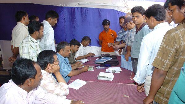 Голосование в Индии. Архивное фото