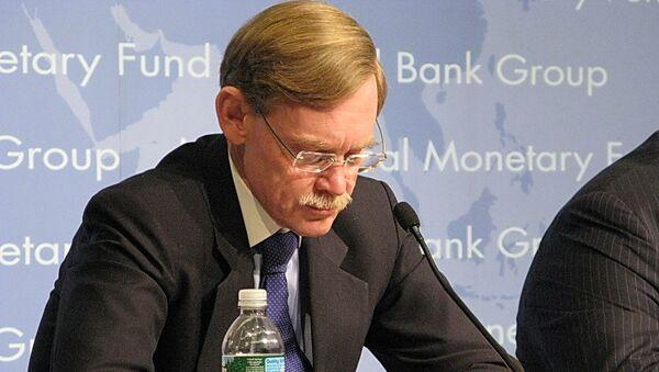 Глава Всемирного банка (ВБ) Роберт Зеллик. Архив.