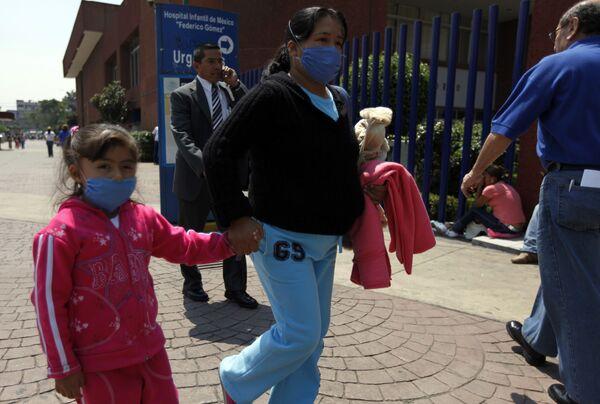 Мексиканские школы закрыты до 6 мая из-за свиного гриппа