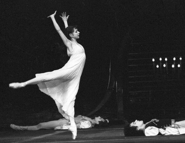 Екатерина Максимова в балете «Повесть о Ромео и Джульетте»