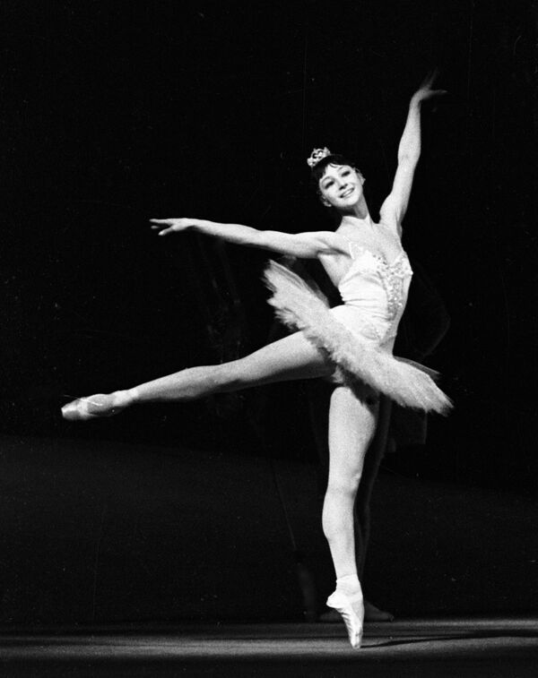 Максимова в балете «Щелкунчик»