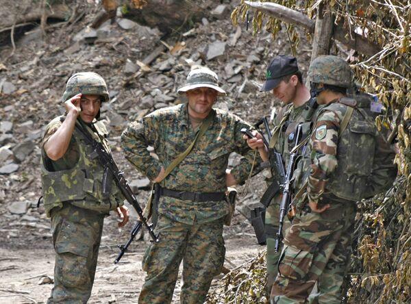 Грузинские военные. Архив