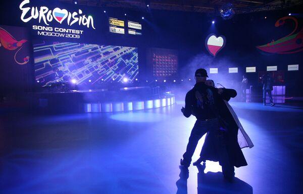 Полуфиналисты Евровидения-2009 зайдут на второй репетиционный круг