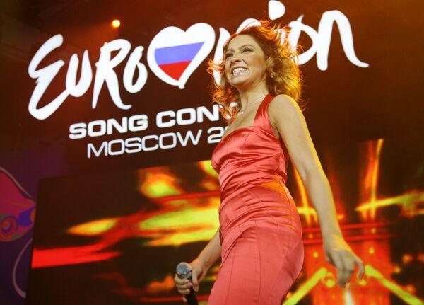 Участница Евровидения Хадисе (Турция)