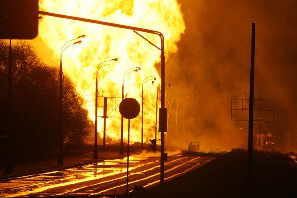 Газопровод в Москве взорвала ошибка сварщиков тридцатилетней давности