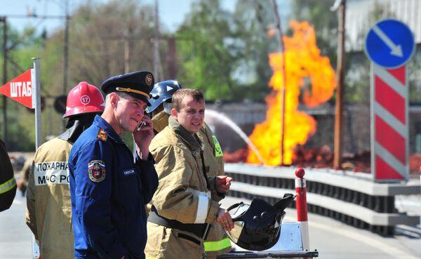 Взрыв газопровода на Озерной улице в Москве в ночь на 10 мая 2009 года