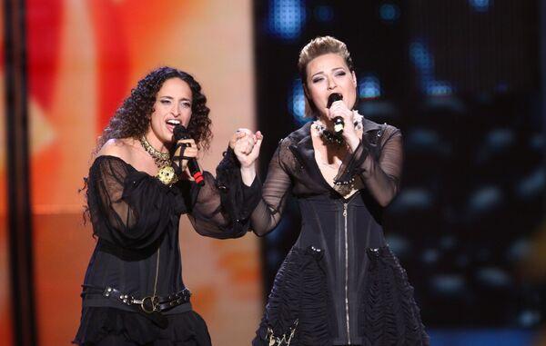 Ноа и Мира Авад (Израиль). Первый полуфинал Евровидения-2009