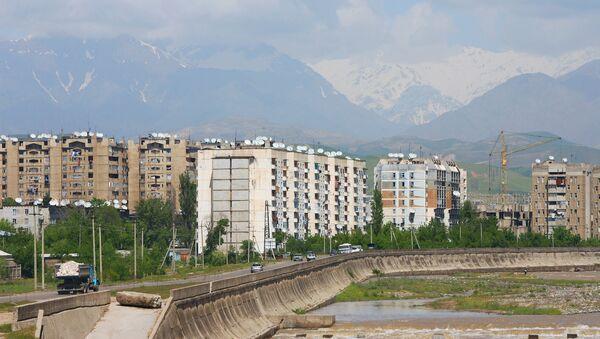 Город Душанбе. Архивное фото