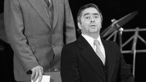 Ильченко и Карцев на сцене